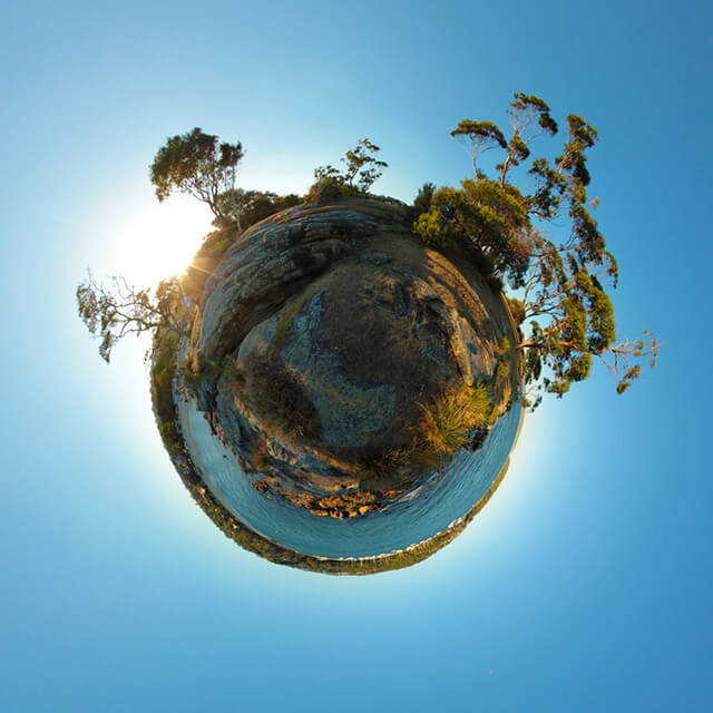 Little Planet Projection